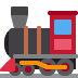 🚂 locomotive Emoji on Twitter Platform