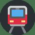 🚇 metro Emoji on Twitter Platform