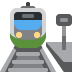 🚉 station Emoji on Twitter Platform