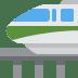 🚝 monorail Emoji on Twitter Platform