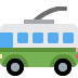 🚎 trolleybus Emoji on Twitter Platform