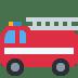 🚒 fire engine Emoji on Twitter Platform