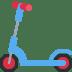 🛴 kick scooter Emoji on Twitter Platform