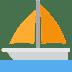 ⛵ sailboat Emoji on Twitter Platform