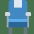 💺 seat Emoji on Twitter Platform