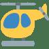 🚁 helicopter Emoji on Twitter Platform