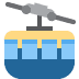 🚠 mountain cableway Emoji on Twitter Platform
