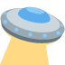 🛸 flying saucer Emoji on Twitter Platform