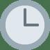 🕒 three o'clock Emoji on Twitter Platform