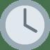 🕓 four o'clock Emoji on Twitter Platform