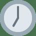 🕖 seven o'clock Emoji on Twitter Platform