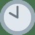 🕙 ten o'clock Emoji on Twitter Platform