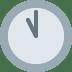 🕚 eleven o'clock Emoji on Twitter Platform