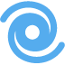 🌀 cyclone Emoji on Twitter Platform
