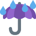 ☔ umbrella with rain drops Emoji on Twitter Platform