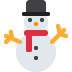 ⛄ snowman without snow Emoji on Twitter Platform