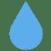 💧 droplet Emoji on Twitter Platform