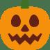 🎃 Calabaza Halloween Emoji en la plataforma de Twitter