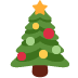 🎄 Christmas tree Emoji on Twitter Platform