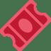 🎟️ admission tickets Emoji on Twitter Platform