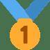 🥇 1st place medal Emoji on Twitter Platform