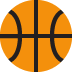 🏀 basketball Emoji on Twitter Platform