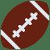 🏈 american football Emoji on Twitter Platform