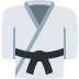 🥋 martial arts uniform Emoji on Twitter Platform