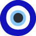 🧿 nazar amulet Emoji on Twitter Platform