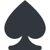 ♠️ spade suit Emoji on Twitter Platform