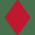 ♦️ diamond suit Emoji on Twitter Platform