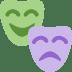 🎭 performing arts Emoji on Twitter Platform