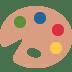 🎨 artist palette Emoji on Twitter Platform