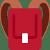 🎒 Backpack Emoji on Twitter Platform