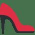 👠 high-heeled shoe Emoji on Twitter Platform