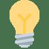 💡 light bulb Emoji on Twitter Platform