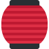 🏮 red paper lantern Emoji on Twitter Platform