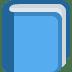 📘 blue book Emoji on Twitter Platform