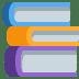 📚 books Emoji on Twitter Platform