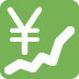 💹 chart increasing with yen Emoji on Twitter Platform