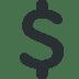 💲 Dollar Sign Emoji on Twitter Platform