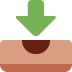 📥 Inbox Tray Emoji on Twitter Platform