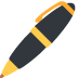 🖊️ pen Emoji on Twitter Platform