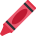 🖍️ crayon Emoji on Twitter Platform