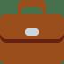 💼 briefcase Emoji on Twitter Platform