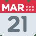 📅 calendar Emoji on Twitter Platform