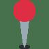 📍 Round Pushpin Emoji on Twitter Platform
