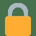 🔒 locked Emoji on Twitter Platform
