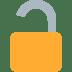 🔓 Unlocked Padlock Emoji on Twitter Platform