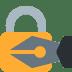 🔏 locked with pen Emoji on Twitter Platform